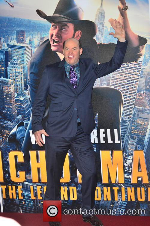 U.K. premiere of 'Anchorman 2: The Legend Continues'