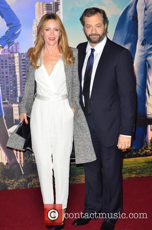 Leslie Mann and Judd Apatow 1