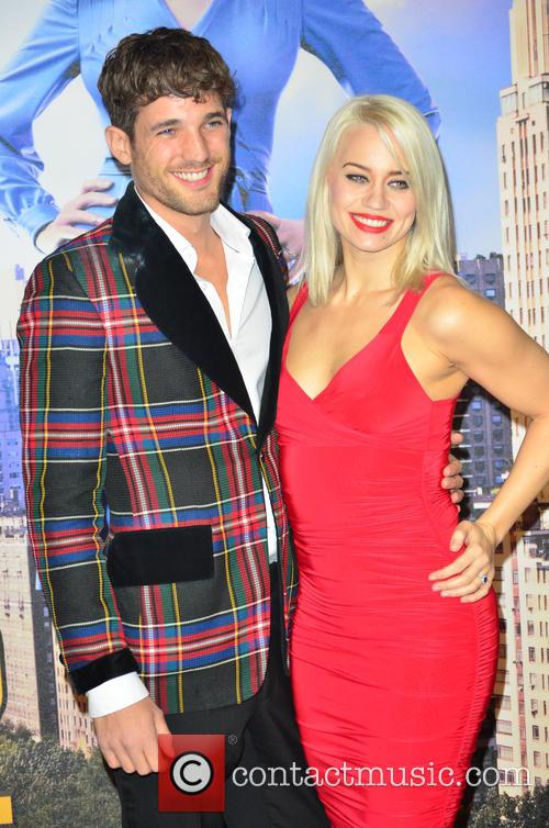 Kimberly Wyatt and With Boyfriend 2