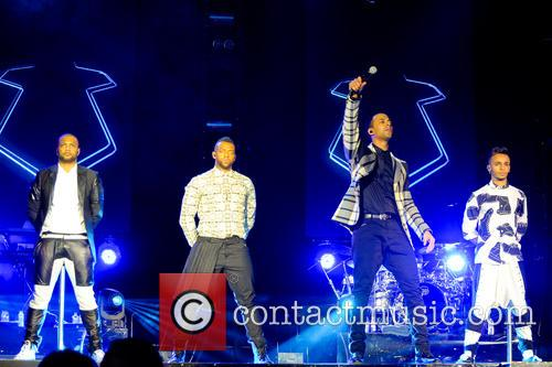 Marvin Humes, Aston Merrygold, Oritsé Williams, Jb Gill and Jls 4