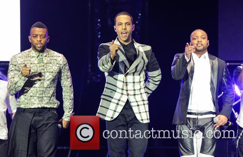 Marvin Humes, Oritse Williams and JB Gill 2