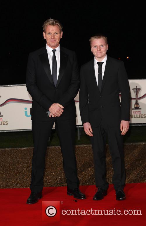 Gordon Ramsay and Son Jack Scott Ramsay