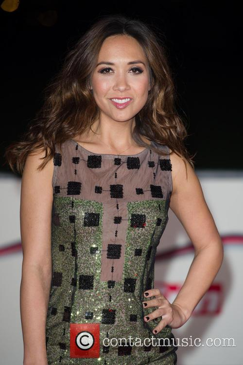 Myleene Klass at The Sun Military Awards 2013