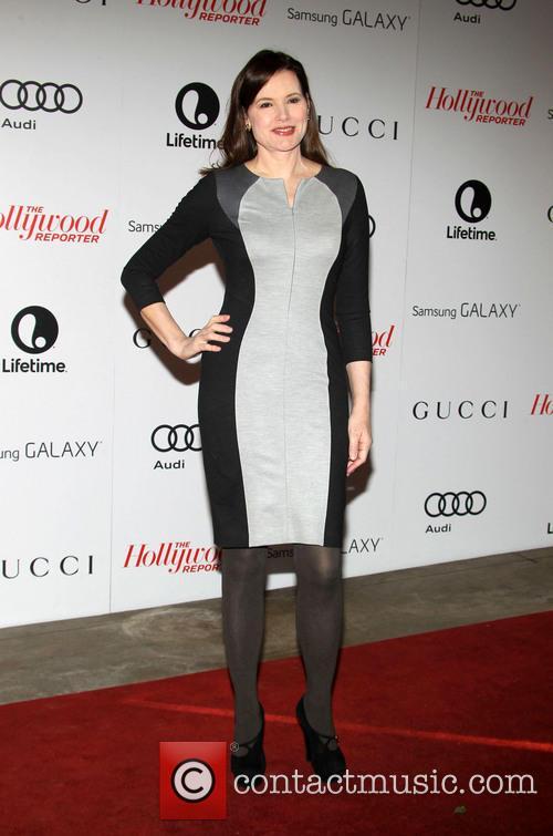 Geena Davis, Beverly Hills Hotel