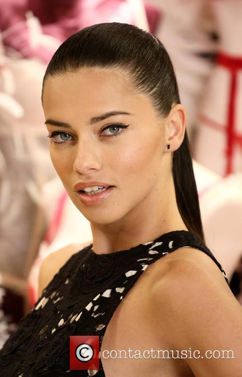 Adriana Lima celebrates Victoria's Secret UK