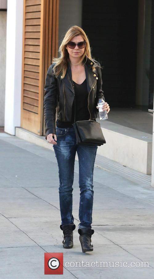 Ellen Pompeo Shopping In Beverly Hills