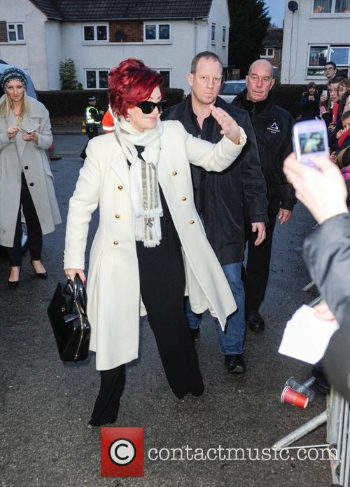 sharon osbourne sharon osbourne arrives in leicester 3995607