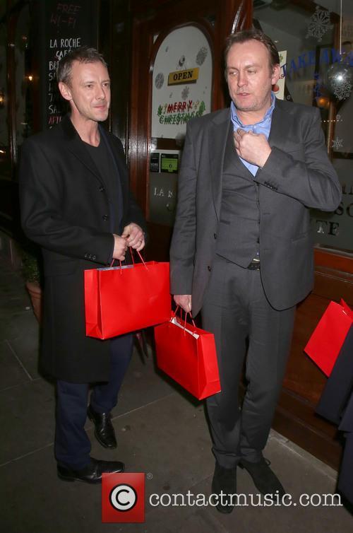 John Simm and Philip Glenister 2