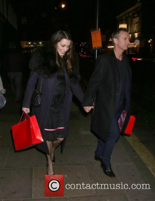 Kate Magowan and John Simm