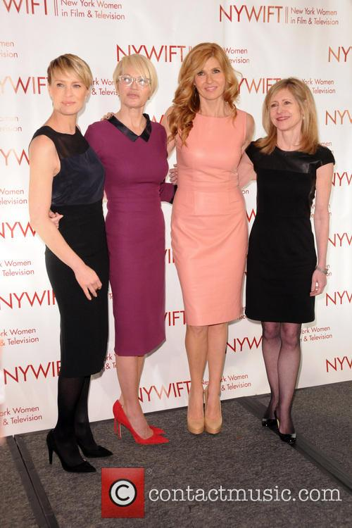 Robin Wright, Ellen Barkin, Connie Britton and Frances Berwick 4