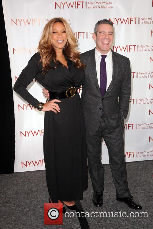 Wendy Williams and Andy Cohen 8