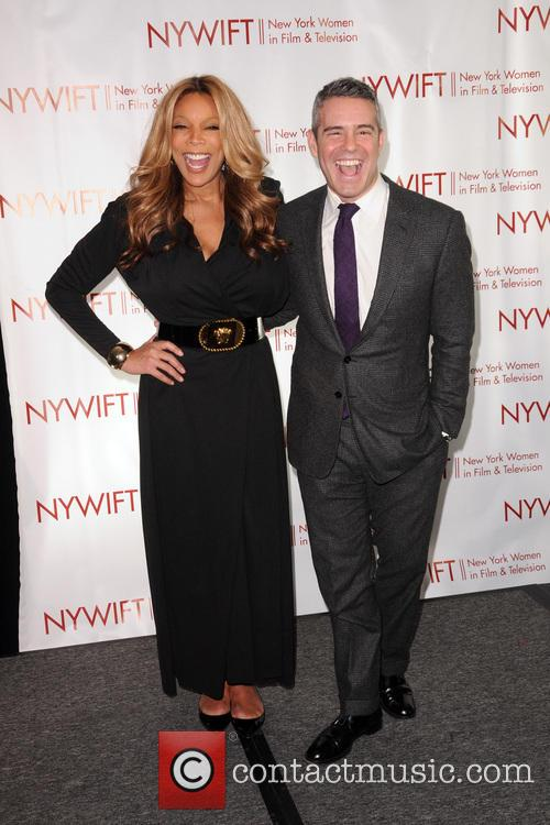 Wendy Williams and Andy Cohen 11