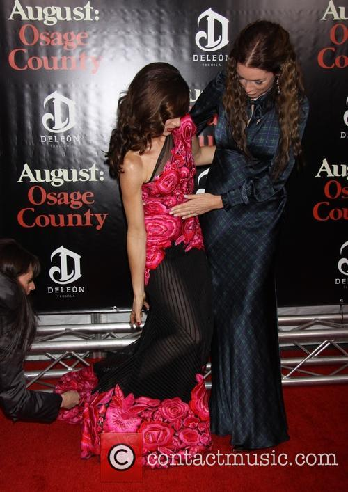 Juliette Lewis Wearing Naeem Khan and Julianne Nicholson 2
