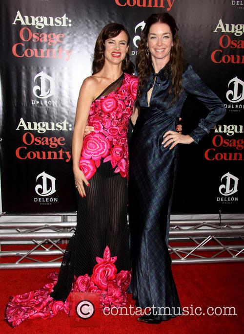Juliette Lewis Wearing Naeem Khan and Julianne Nicholson 3