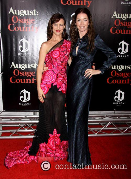 Juliette Lewis Wearing Naeem Khan and Julianne Nicholson 1