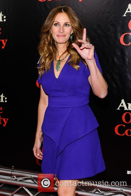 Julia Roberts, August Osage County Premiere