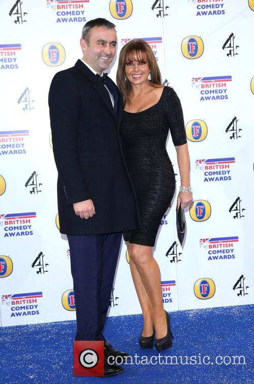 Carol Vorderman and Graham Duff 9