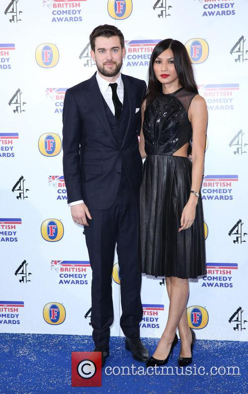 Jack Whitehall and Gemma Chan 2
