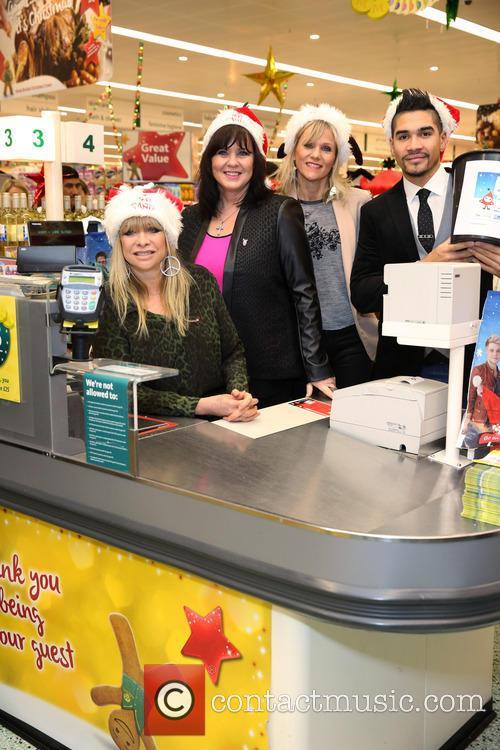 Jo Wood, Coleen Nolan and Linda Barker 2