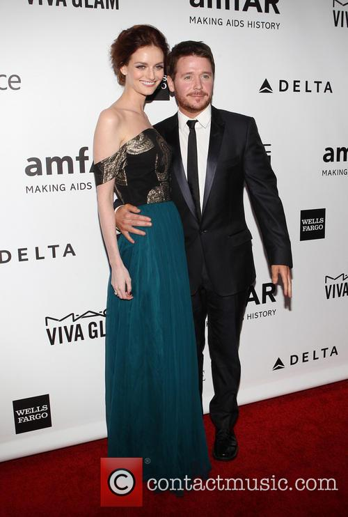 lydia hearst kevin connolly 2013 amfar inspiration gala 3997573
