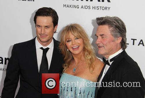 Oliver Hudson, Goldie Hawn and Kurt Russell 2