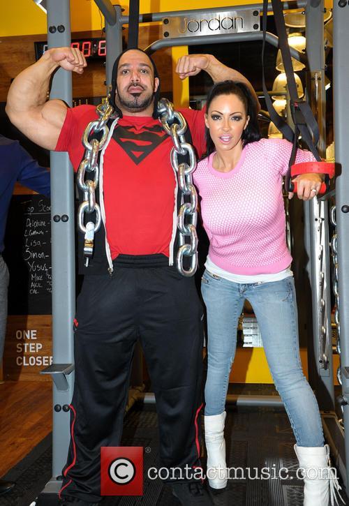 Jodie Marsh and Zak Khan 1