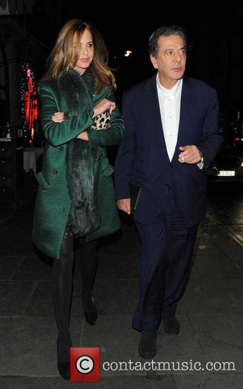 Trinny Woodall and Charles Saatchi 6