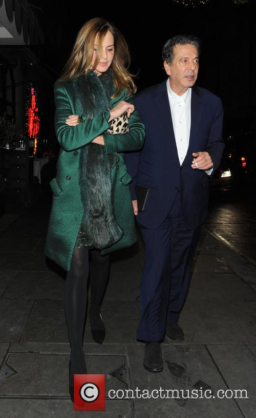 Trinny Woodall and Charles Saatchi 9