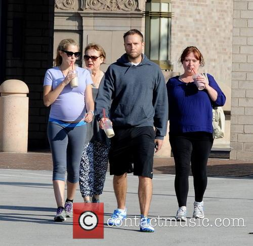 Teresa Palmer, Paula Sanders and Mark Webber 7
