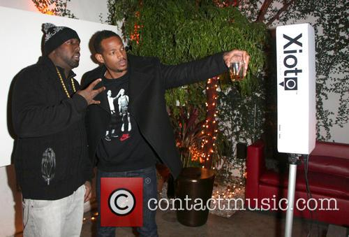Marlon Wayans and Trae Tha Truth