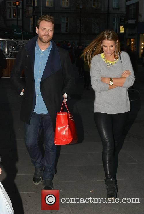 Brian Mcfadden and Vogue Williams Mcfadden 3