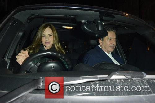 Charles Saatchi and Trinny Woodall 2
