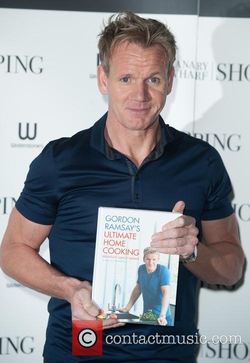 Gordon Ramsay book signing