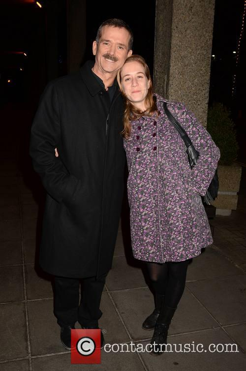 Chris Hadfield and Daughter Kristin Hadfield 4
