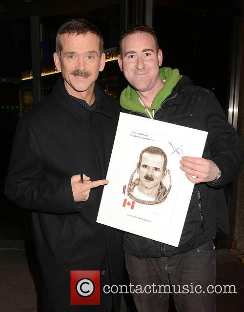 Chris Hadfield and Nasa Fan Mark Whelan 6
