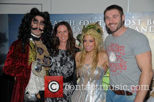 Peter Pan, Stacey Soloman and Ben Cohen 2