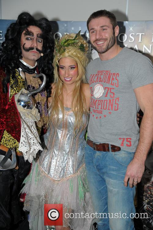 Peter Pan, Stacey Soloman and Ben Cohen 3