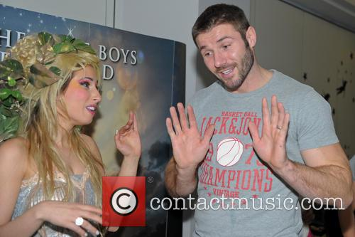 Peter Pan, Stacey Soloman and Ben Cohen 4