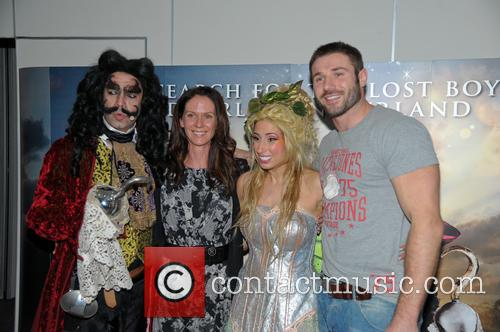Peter Pan, Stacey Soloman and Ben Cohen 1