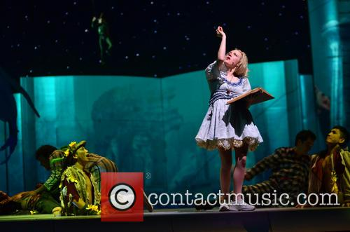 Peter Pan and Lilly-Jane Young 2