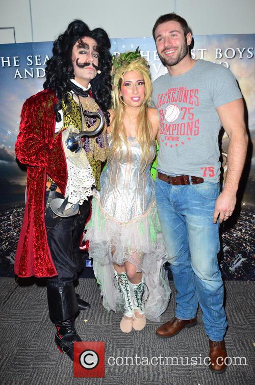 Peter Pan, Milan Van Weelden, Stacey Soloman and Ben Cohen 1