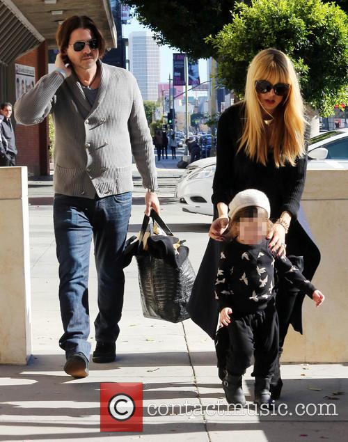 Pregnant Rachel Zoe walking in Beverly Hills with...