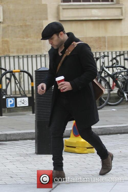 Anthony Costa arriving at the BBC Radio 1...