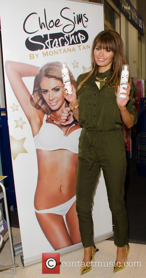 Chloe Sims launches her tanning range 'Chloe Sims...