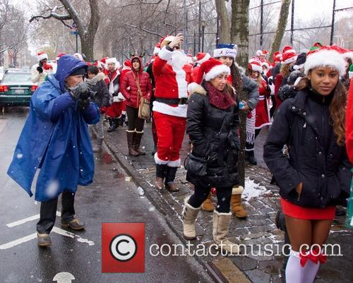 The 2013 New York SantaCon