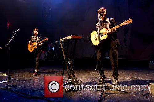 Tegan and Sara perform live in concert