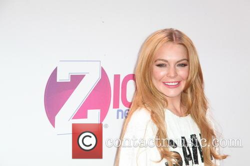 Lindsay Lohan Jingle Ball