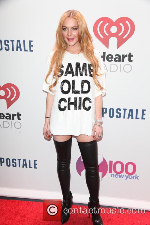 Lindsay Lohan, z100 Jingle Ball
