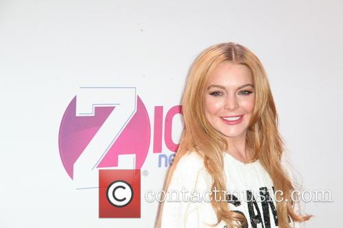 Lindsay Lohan jingle ball