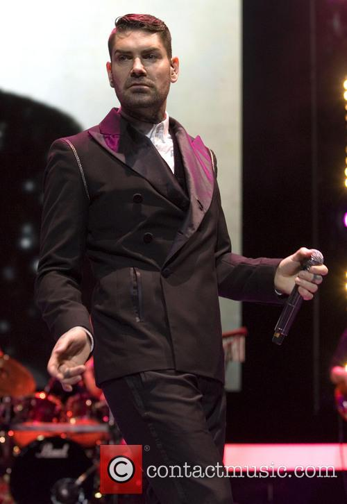 Boyzone perform live in concert